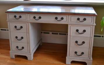 Paris Gray Desk